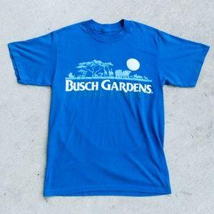 Vintage Busch Gardens Tampa Bay Florida Tee